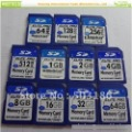 20pcs/lot Free shipping High quality  OEM SD card memory card 128M/256MB/512M/1GB/2GB