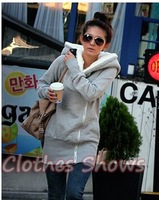 Женские толстовки и Кофты 2012 Korea Women's hooded Sweater coat/Fashion COCO Hooded sweater sweatshirt