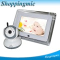 2012 7 Inch Wireless Night Vision Camera + Two Way Audio Baby Monitor freeshipping & dropshipping