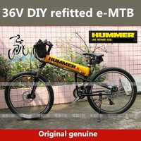 2012 Brand New Genuine DIY refitted 36V 26''  Mountain bike Folding electric bike,FOB.Free-factory wholesale
