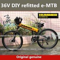 2012 Brand New Genuine DIY refitted 36V 26''  Mountain bike Folding electric bike,FOB.Free-factory wholesale