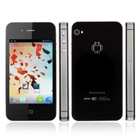 Rooted MTK6575 W007 1GHz 3G WCDMA 3.5 Inch Capacitive Screen Android 4 Dual Sim Smart Phone