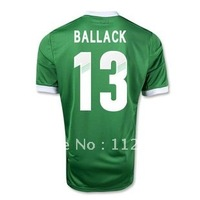 top thailand Germany away green 2012/2013 UEFA,BALLACK,13#