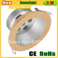 Free shipping new style  LED downlight 5w/7w,CE,RoHs,,AC85-265V
