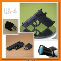 Toy gun Model USB 2.0 Flash Memory Stick Pen Drive 2GB 4GB 8GB 16GB 32GB LU069