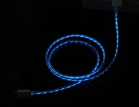 Mini Universal USB Charge Sync Cable With Blue Visible light
