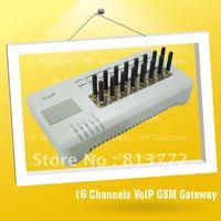 HOT SALE Quad band 850/900/1800/1900MHz 16 ports GOIP gateway voip gsm gateway COIP GSM VOIP gateway