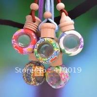 Car Aroma Freshener (Assorted),Handmade Aromatherapy Necklace Diffuser Pendant