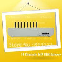 HOT SALE  16 Port 16 Sim GSM VoIP Gateway(GoIP16)