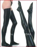 Fashion sexy black long Leather comfortable girls stocking  women's pantyhose Free shipping 4015