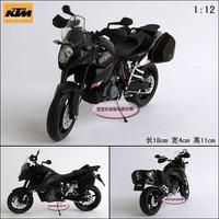Ktm 990 off-road strollers black rear suspension motorbike alloy motorcycle model free air mail