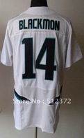 Free Shipping!!! 2012 new style #14 Justin Blackmon 2012 NEW white jersey