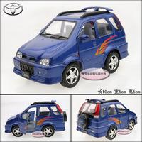 Blue toy car TOYOTA cami alloy car models free air mail