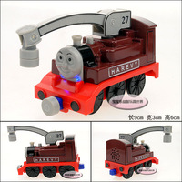 New Plain thomas harvey red train magnetic alloy car model free air mail