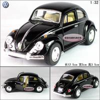 1:32 volkswagen vw beetle 1967 beetle black alloy car models free air mail