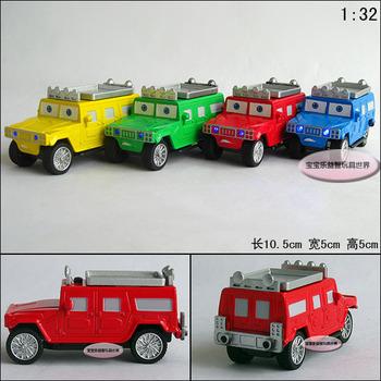 Cars Hummer Suv car plain WARRIOR alloy car model free air mail