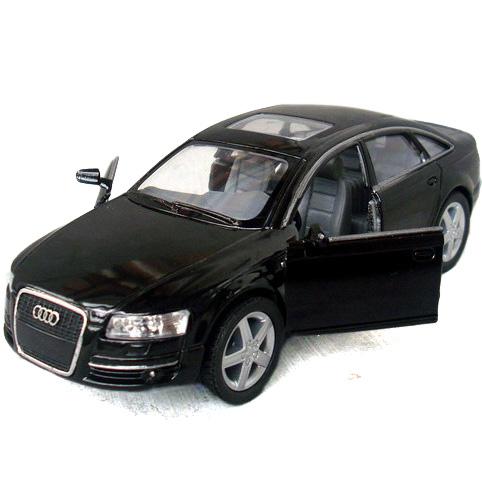 Kinsmart alloy toy car toy audi a6 car small car model of the door