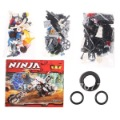 NO.9728 Ninja Building Blocks Toy Great Educational Toys with 156 pcs for Kids