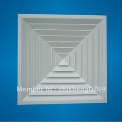 Aluminum square ceiling diffuser(China (Mainland))