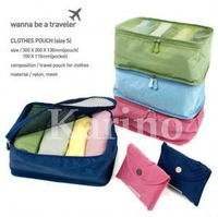 Free shipping Wholesale NEW Organizer Traveling Bag, Foldable Functional Hand Bag, S#