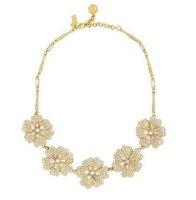 Free Shipping /K-S-J/ KS PAVE POSY CRYSTAL NECKLACE,Prom Jewelry,Kate/ OEM jewelry