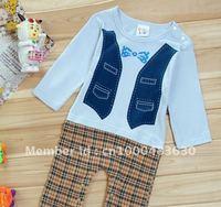 free shipping,   100% cotton cartoon baby romper , 2 colors,3sizes, 6 pcs 1 lot, wholesale,
