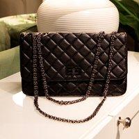 K700 fashion classic plaid chain women's handbag shoulder bag messenger bag