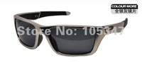 2012Free ship wholesales Brand O Jury Matte silver frame Grey Iridium Polarized len Active Outdoor Metal men's sports Sunglasses
