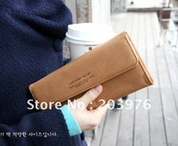 Retail+Free Shipping For Women Ladies' Long PU Wallet Fashional hand bag