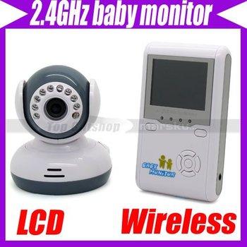 "2.4G Wireless Digital Camera Voice Control 2.4"" LCD Baby Monitor Night Version #3342"