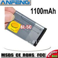 Genuine 1100mAh New 3.7V BL-5C Battery For Nokia 2310 3100 6030 6230 3120 N70,N71,N72, N91,N91 8GB free shipping
