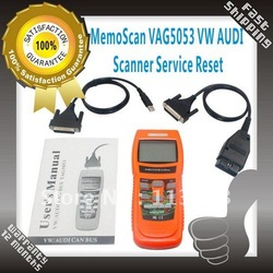 HOT!!!RETAIL SALE MemoScan VAG5053 VW AUDI Scanner Service Reset VAG 5053 FREE SHIPPING(China (Mainland))