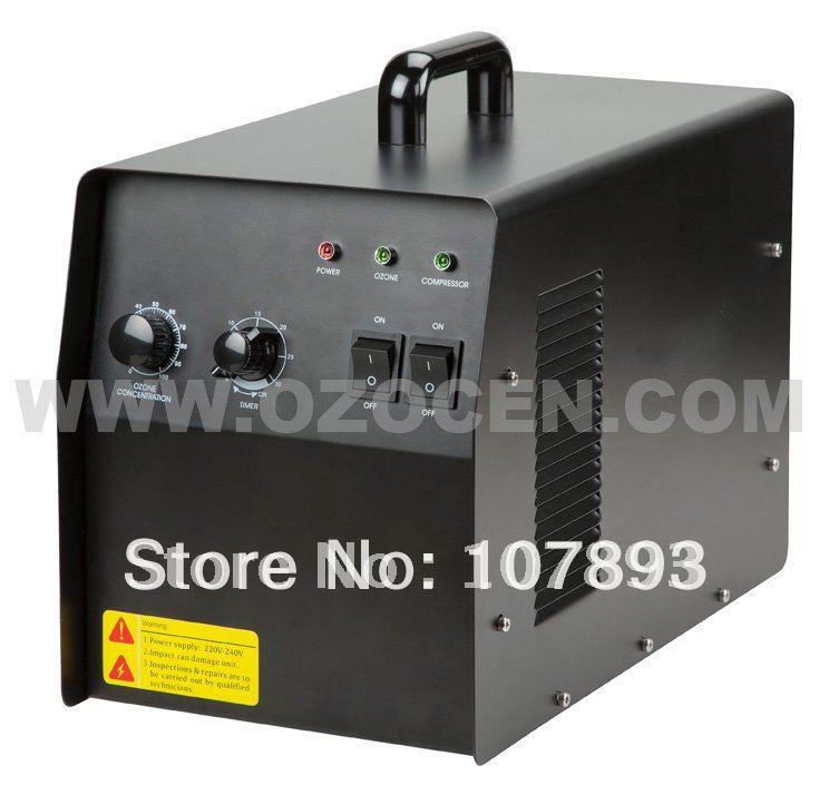 Free Shiping to EU 6G Air Purifier Cigarette Odor Smoke Removal Ozone Generator(China (Mainland))