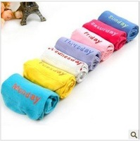 One Color One Day,One Week 7 Colors Cotton Shoes Socks Women,Lady Colorful Socks,35 Pairs/Lot