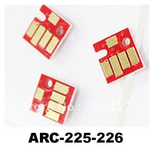 (ARC-225-226) auto cartridge reset chip ARC for canon PGI225 CLI226 pgi-225 cli-226 pg225 PIXMA MX882/IX6520 free shipping DHL(China (Mainland))