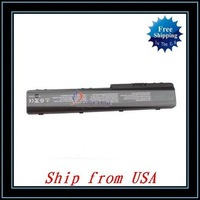 Free Shipping + Wholesale 5pcs/lot Laptop Battery For HP DV7 DV8 HDX18 HDXX18 (8-cells 14.4V 5200mAh) Ship from USA-N01395