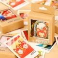 Free shipping 200pcs/lot=10set,  Mini greeting cards  postcards ,gift card,good quality  wholesale,