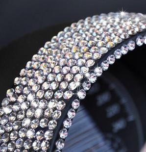 Car decoration cell phone rhinestone stickers rhinestone pasted car stickers diamond paste accessories diy jushi