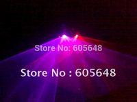 220mW Professional DMX Stage Lighting 2 Heads 2 Lens DL-22RP R&P Sound Control DJ Laser Light Show Beam Fast Ship