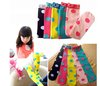 40pcs=20pair girl korea long socks kids cute polka dots stockings fashion dress tights candy princess kneesocks 20 pairs/lot