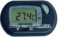 free shipping aquarium digital thermometer switch between C and F      ST-3
