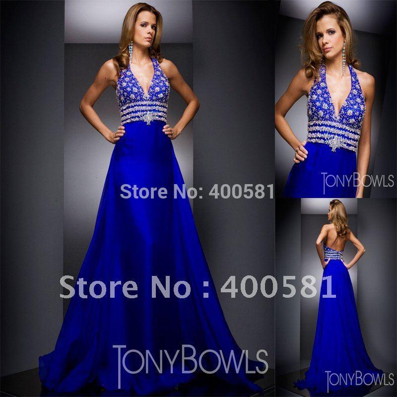 Moderno Royal Blue Bridesmaid Dresses Chiffon Bosquejo - Ideas para ...