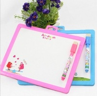 children's double-sided  WordPad drawing board with pen and eraser kids studying early education school supplies + free shipping