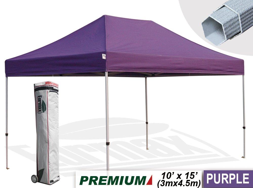 Purple pop up canopy