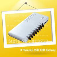 NEW 8 channels GSM gateway, VOIP gateway , GOIP8