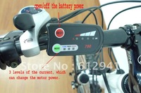 Electric bicycle intelligent LED display, CE and ROHS approved King Meter 790