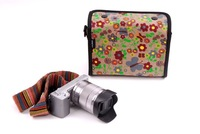 RC-3 Colourful Canvas Digital Camera bag for ILDC / EVIL  Zkin Babylon
