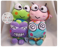 Frog 20cm plush doll sucker pendant frog lovers 4 set