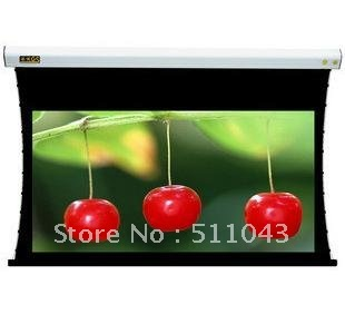 The real thing Fujitsu HD series 120 inch 16:9 pull curtain HD household projection screen/send remote control(China (Mainland))