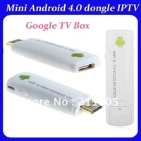 Mini Android 4.0 dongle,Android IPTV,Google TV Box Free Shipping